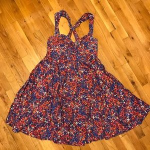 French connection dress multi color